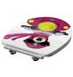 SCHÜTTE WC-Sitz »Pink Lady«, Duroplast,  weiss/pink,  oval-Thumbnail