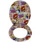 WENKO WC-Sitz »Pop-Art«,  Absenkautomatik-Thumbnail