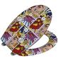 WENKO WC-Sitz »Pop-Art«, Duroplast, oval, mit Softclose-Funktion-Thumbnail