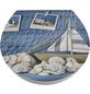 WELLWATER WC-Sitz »Porto«, Duroplast, oval, mit Softclose-Funktion-Thumbnail