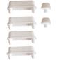 SANITOP-WINGENROTH WC-Sitz-Puffer, Kunststoff, weiß-Thumbnail
