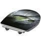 SCHÜTTE WC-Sitz »Raindrop« aus Duroplast,  oval mit Softclose-Funktion-Thumbnail