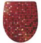 SCHÜTTE WC-Sitz »Red Glitter« aus Duroplast,  oval mit Softclose-Funktion-Thumbnail