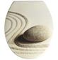 WENKO WC-Sitz »Sabbia« aus Duroplast,  oval mit Softclose-Funktion-Thumbnail