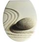 WENKO WC-Sitz »Sand and Stone« aus Duroplast,  oval-Thumbnail