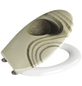 WENKO WC-Sitz »Sand and Stone«, Duroplast, oval-Thumbnail