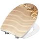 CORNAT WC-Sitz »SAND«, Thermoplast, oval, mit Softclose-Funktion-Thumbnail