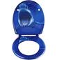 SCHÜTTE WC-Sitz »Shark«, Duroplast,  weiss/blau,  oval-Thumbnail