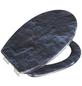 WENKO WC-Sitz »Slate Rock« aus Duroplast,  oval mit Softclose-Funktion-Thumbnail