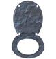 WENKO WC-Sitz »Slate Rock«, Duroplast, oval, mit Softclose-Funktion-Thumbnail