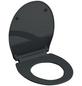 SCHÜTTE WC-Sitz »Slim Anthrazit« aus Duroplast,  oval mit Softclose-Funktion-Thumbnail