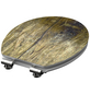SCHÜTTE WC-Sitz »Solid Wood« mit Holzkern,  oval mit Softclose-Funktion-Thumbnail