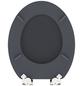 SCHÜTTE WC-Sitz »Spirit Anthrazit« mit Holzkern,  oval mit Softclose-Funktion-Thumbnail