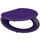 SCHÜTTE WC-Sitz »Spirit Violett«, Mitteldichte Faserplatte (MDF),  violett,  oval-Thumbnail