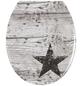WENKO WC-Sitz »Star«, Duroplast, oval-Thumbnail