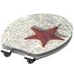 SCHÜTTE WC-Sitz »Starfish« mit Holzkern,  oval-Thumbnail