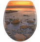 WENKO WC-Sitz »Stone Shore«, natur|steine-Thumbnail