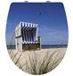 WENKO WC-Sitz »Strandkorb«, Duroplast, oval, mit Softclose-Funktion-Thumbnail