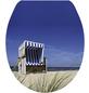 SANITOP-WINGENROTH WC-Sitz »Strandkorb«, mit Holzkern, oval, mit Softclose-Funktion-Thumbnail