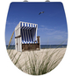 WENKO WC-Sitz »Strandkorb«, Strand-Thumbnail