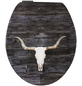 SANITOP-WINGENROTH WC-Sitz »Texas Longhorn High Gloss«, mit Holzkern, oval, mit Softclose-Funktion-Thumbnail