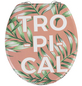 WENKO WC-Sitz »Tropical«, schriftzug blaetter-Thumbnail