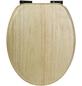 SANITOP-WINGENROTH WC-Sitz »Venezia«, Echtholz, oval, mit Softclose-Funktion-Thumbnail