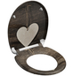 SCHÜTTE WC-Sitz »Wood Heart«, Duroplast, oval, mit Softclose-Funktion-Thumbnail
