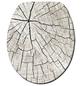 WENKO WC-Sitz »Wood«, MDF, oval-Thumbnail