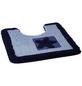 KLEINE WOLKE WC-Vorleger »Beach«, blau, BxL: 50cm x 50cm-Thumbnail