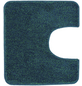 KLEINE WOLKE WC-Vorleger »Seattle«, grün/blau, B x L: 55  x 50 cm-Thumbnail