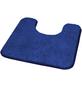 KLEINE WOLKE WC-Vorleger »Wilna«, blau, BxL: 55cm x 55cm-Thumbnail