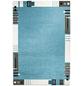 ANDIAMO Web-Teppich »Aurora«, BxL: 120 x 170 cm, türkis-Thumbnail