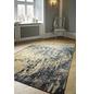Web-Teppich, BxL: 80 x 150 cm, blau/beige-Thumbnail