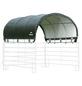 SHELTERLOGIC Weidezelt, Breite: 714 cm, Dach: Polyethylen (PE), Farbe: grün-Thumbnail