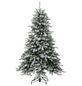 Evergreen Weihnachtsbaum »Cedar Frost«, Höhe: 180 cm, grün/weiß-Thumbnail