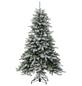Evergreen Weihnachtsbaum »Cedar Frost«, Höhe: 210 cm, grün/weiß-Thumbnail