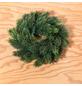 CASAYA Weihnachtskranz »Schwarzwald«, Ø 24 cm, grün, Kunststoff-Thumbnail