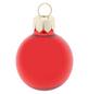 CASAYA Weihnachtskugel, Ø: 3 cm, rot, 28 Stück-Thumbnail