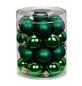 CASAYA Weihnachtskugel, Ø: 3 cm, tannengrün, 28 Stück-Thumbnail
