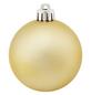 CASAYA Weihnachtskugel, Ø: 6 cm, goldfarben, 12 Stück-Thumbnail