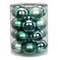 CASAYA Weihnachtskugel, Ø: 6 cm, mintgrün, 20 Stück-Thumbnail