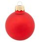CASAYA Weihnachtskugel, Ø: 6 cm, rot, 20 Stück-Thumbnail