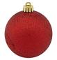 CASAYA Weihnachtskugel, Ø: 7 cm, dunkelrot, 25 Stück-Thumbnail