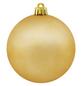 CASAYA Weihnachtskugel, Ø: 8 cm, goldfarben, 6 Stück-Thumbnail