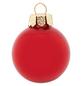 CASAYA Weihnachtskugel, rot, 44 Stück-Thumbnail