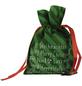 CASAYA Weihnachtstüte, zum Ziehen, Faserstoff ,Grün-Thumbnail