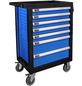 GÜDE Werkstattwagen »Premium GWP 07«, 250-tlg., BxH: 683 x 980 mm, mit 7 Schubladen, blau-Thumbnail
