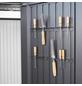 BIOHORT Werkzeughalter »Gerätehäuser«, Stahlblech, B x T x H: 51,5 x 5,4 x 3,7 cm-Thumbnail
