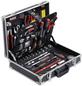MEISTER Werkzeugkoffer »129-teilig«, Aluminium, bestückt, 129-teilig-Thumbnail
